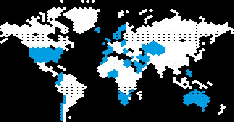 Soluciones en los cinco continentes.